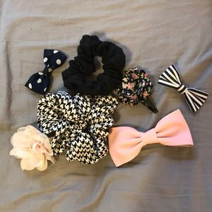 Accessories - Various hair pieces